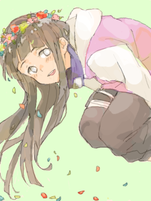 Hinata Hyuga // 나루토