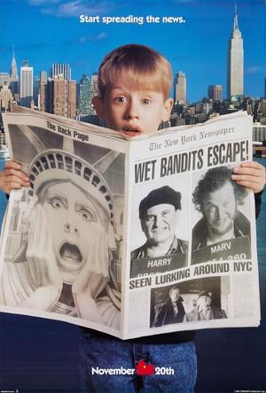 ہوم Alone 2: Lost in New York (1992) Poster
