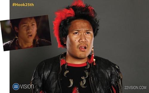 Hook wolpeyper entitled Hook's 25th Anniversary Reunion - Dante Basco (Rufio)