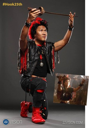 Hook's 25th Anniversary Reunion - Dante Basco (Rufio)