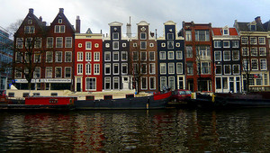Houses in Netherlands.