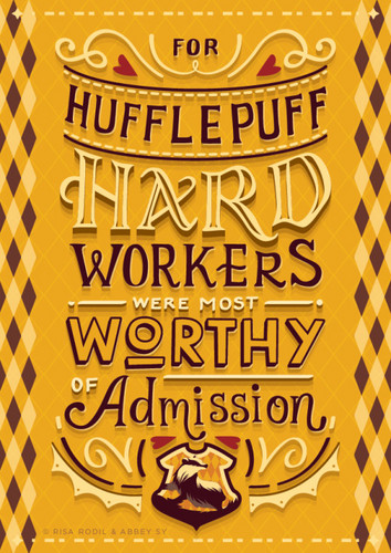 Harry Potter wallpaper entitled Hufflepuff