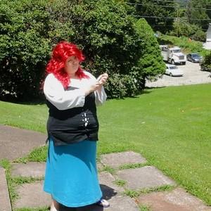 Human Ariel cosplay