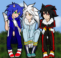 Humans - sonic-shadow-and-silver fan art