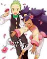 Iris and Cilan