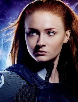 Jean Grey (Sophie Turner) in promotional image for X Men Apocalypse 2016