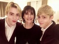 Jedward with Enya