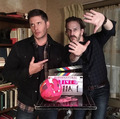 Jensen and Richard Speight Jr. - jensen-ackles photo