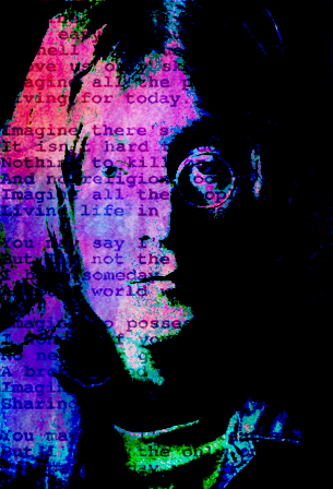 âm nhạc hình nền entitled John Lennon/Imagine