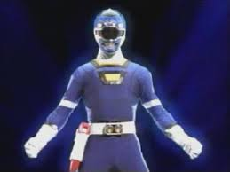 Justin Morphed As The Blue Turbo Ranger