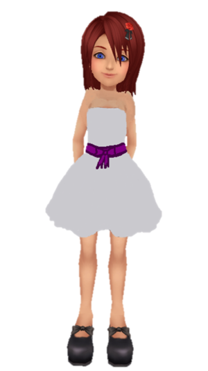 Kairi KH1 New White Dress por Kohaku ume and Me