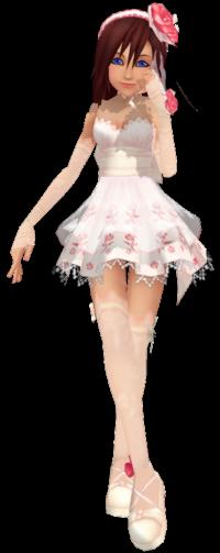 Kairi Wedding Dress 의해 Maycakes