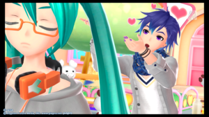 Kaito and Miku