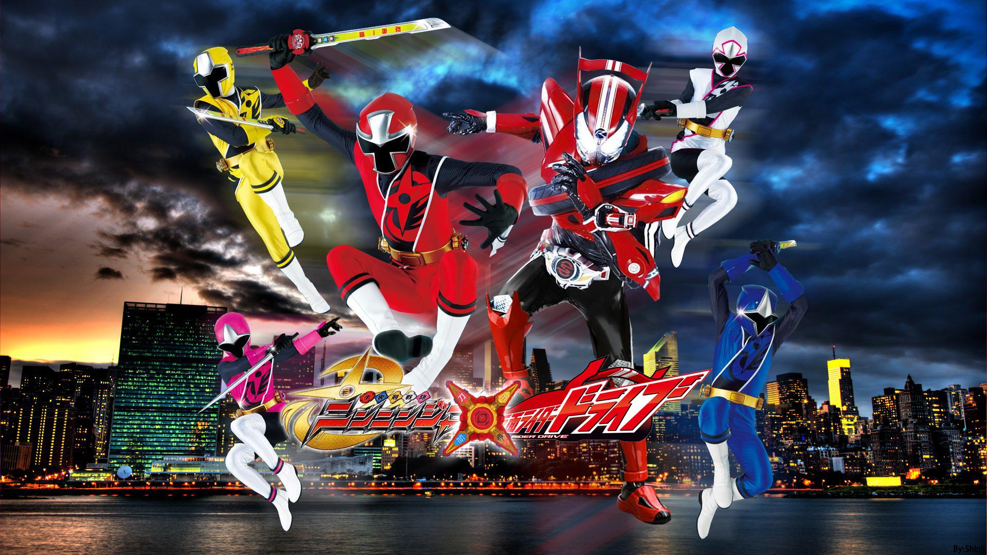Kamen Rider Drive x Shuriken Sentai Ninninger - Tokusatsu