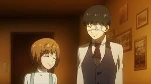 Kaneki and Hinami