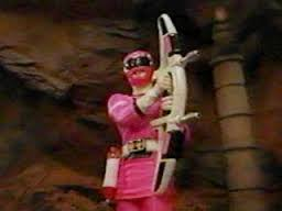 Katherine Morphed As The Original गुलाबी Turbo Ranger