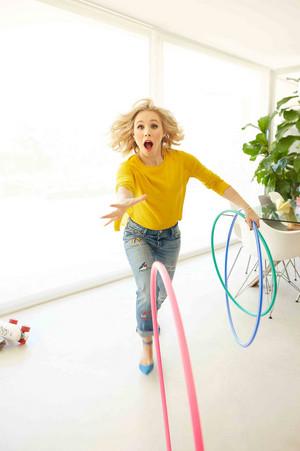 Kristen bel, bell - Parents Magazine Photoshoot - November 2016