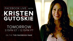 Kristen Gutoskie Live Q&A tomorrow