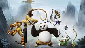 Kung Fu Panda 3 2016 Characters Обои HD