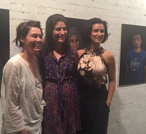 Lena Headey and Indira Varma at the IRC Union Club Event