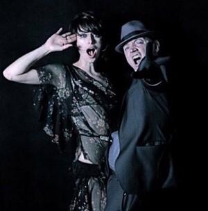Lena Headey and Mark Anthony
