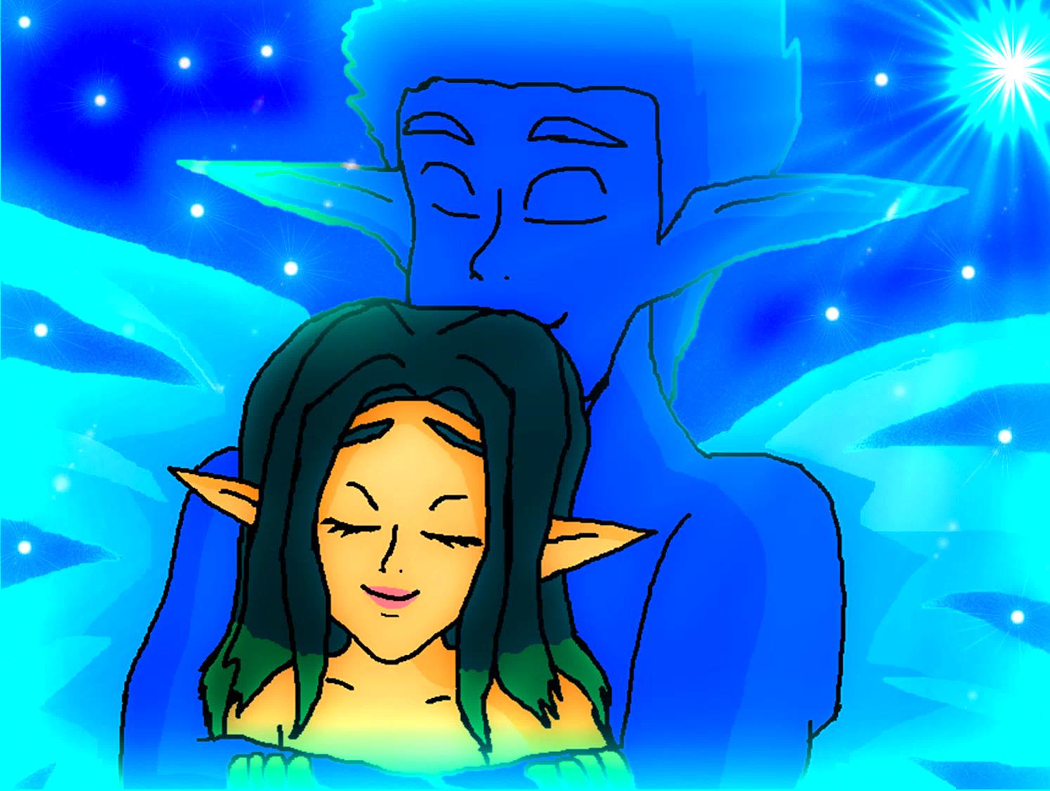 Light Jak And Keira Hagai Feel Warm Hug Jak And Daxter Fan Art 40078741 Fanpop