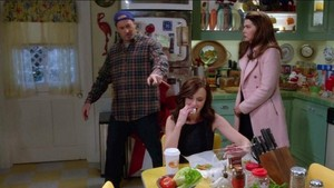 Luke Rory and Lorelai
