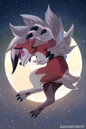 Lycanroc Midnight Form