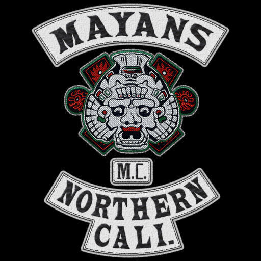 Mayans MC - Northern California Patch/Logo