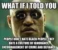 Meme about Black people - lol photo
