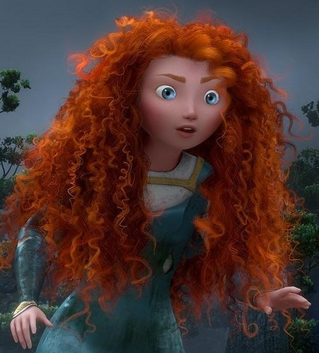 Childhood Animated Movie Characters wallpaper called Merida