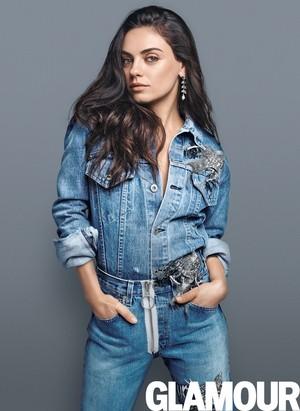 Mila Kunis for Glamour 2016