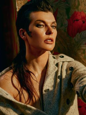 Milla Jovovich - Vogue Photoshoot - October 2016