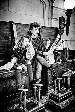 Milla Jovovich and Ever Gabo Jovovich-Anderson - Vs Magazine Photoshoot - Fall/Winter 2016