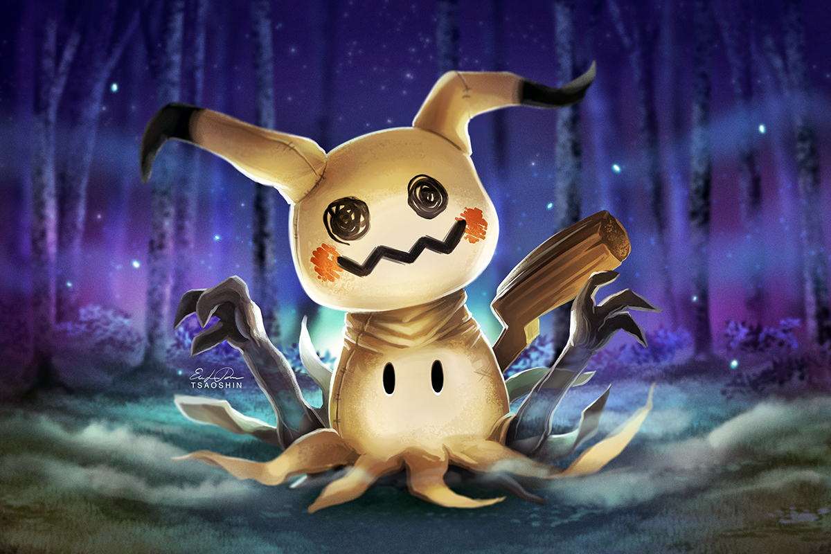 Alola Region Images Mimikyu Hd Wallpaper And Background Photos