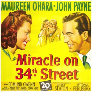 Miracle on 34th strada, via (1947) Poster