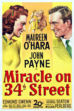 Miracle on 34th straße (1947) Poster