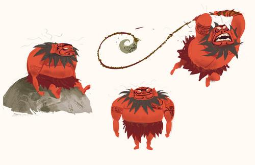 Moana Disney Character Design : Disney s moana images concept art hd wallpaper and
