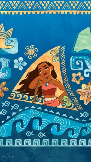 Moana Phone Background