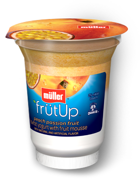 Muller Peach-Passion matunda Yogurt