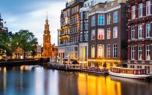Munt Tower  Amsterdam.