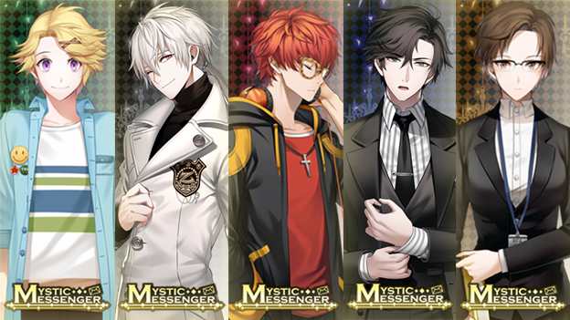 Mystic Messenger Characters