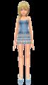 Namine  Blue Dress  Kohaku ume - namine fan art