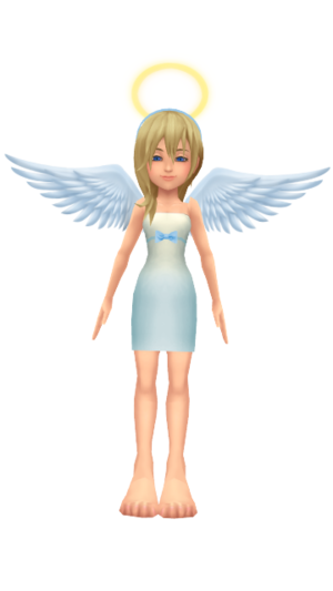 Namine KHCoM ángel por Naminf