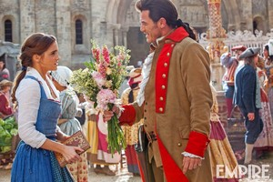 New picture of Beauty and the Beast