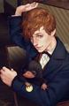 Newt - harry-potter fan art