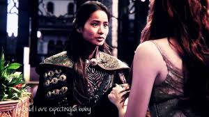OUAT 3x03 花木兰 and Aurora