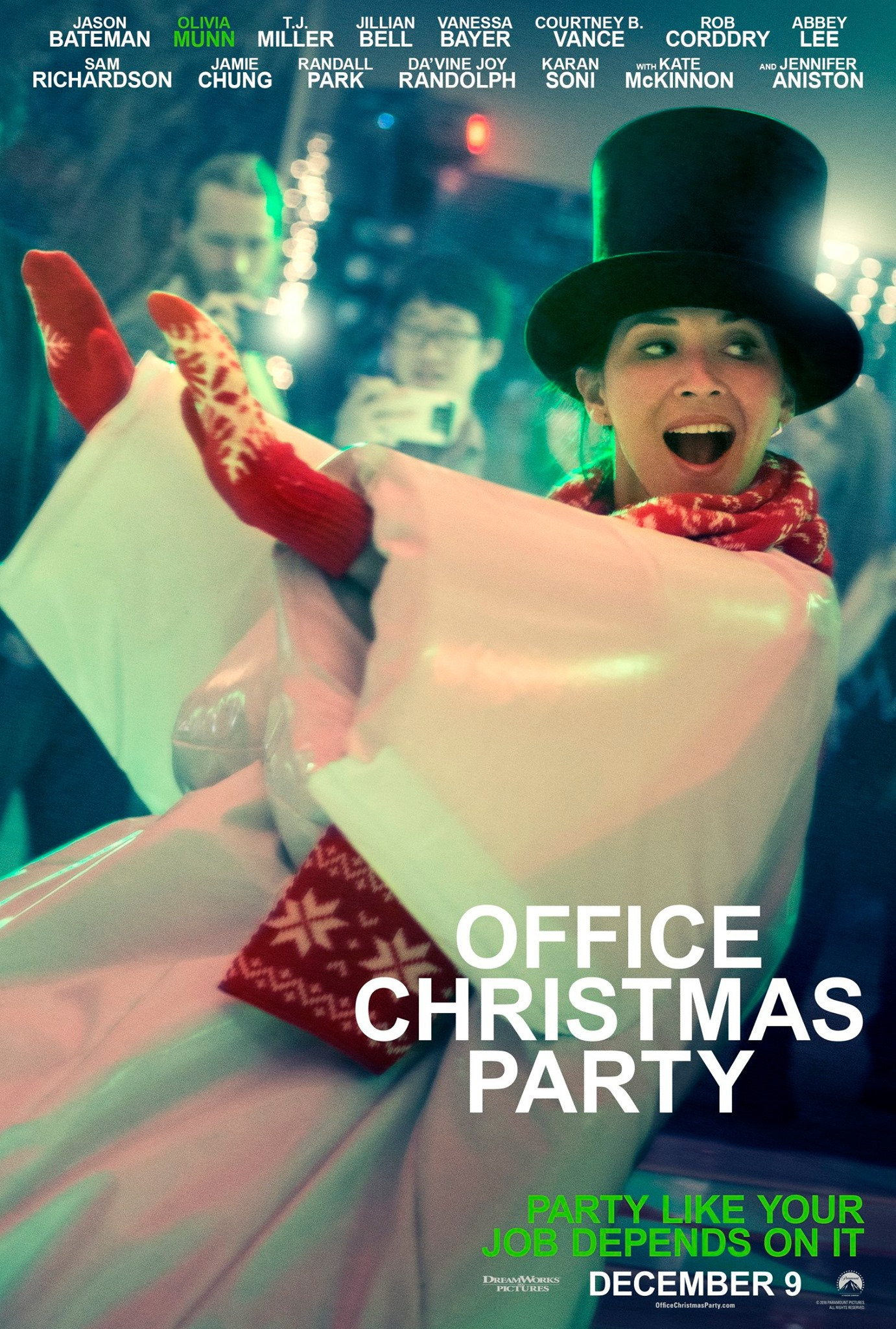 Christmas Movies images Office Christmas Party (2016) Poster HD ...