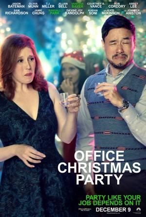 Office Weihnachten Party (2016) Poster