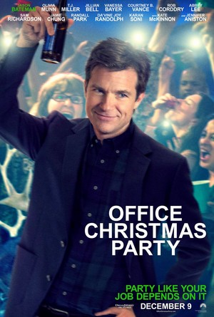 Office Weihnachten Party (2016) Poster